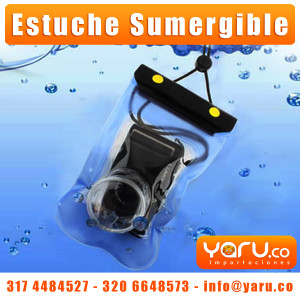 Estuche Impermeable Camaras Digitales