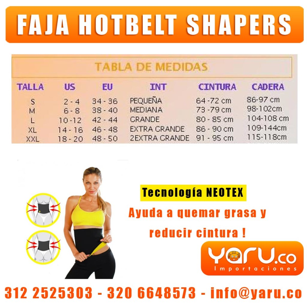 Faja HotBelt Shappers Colombia