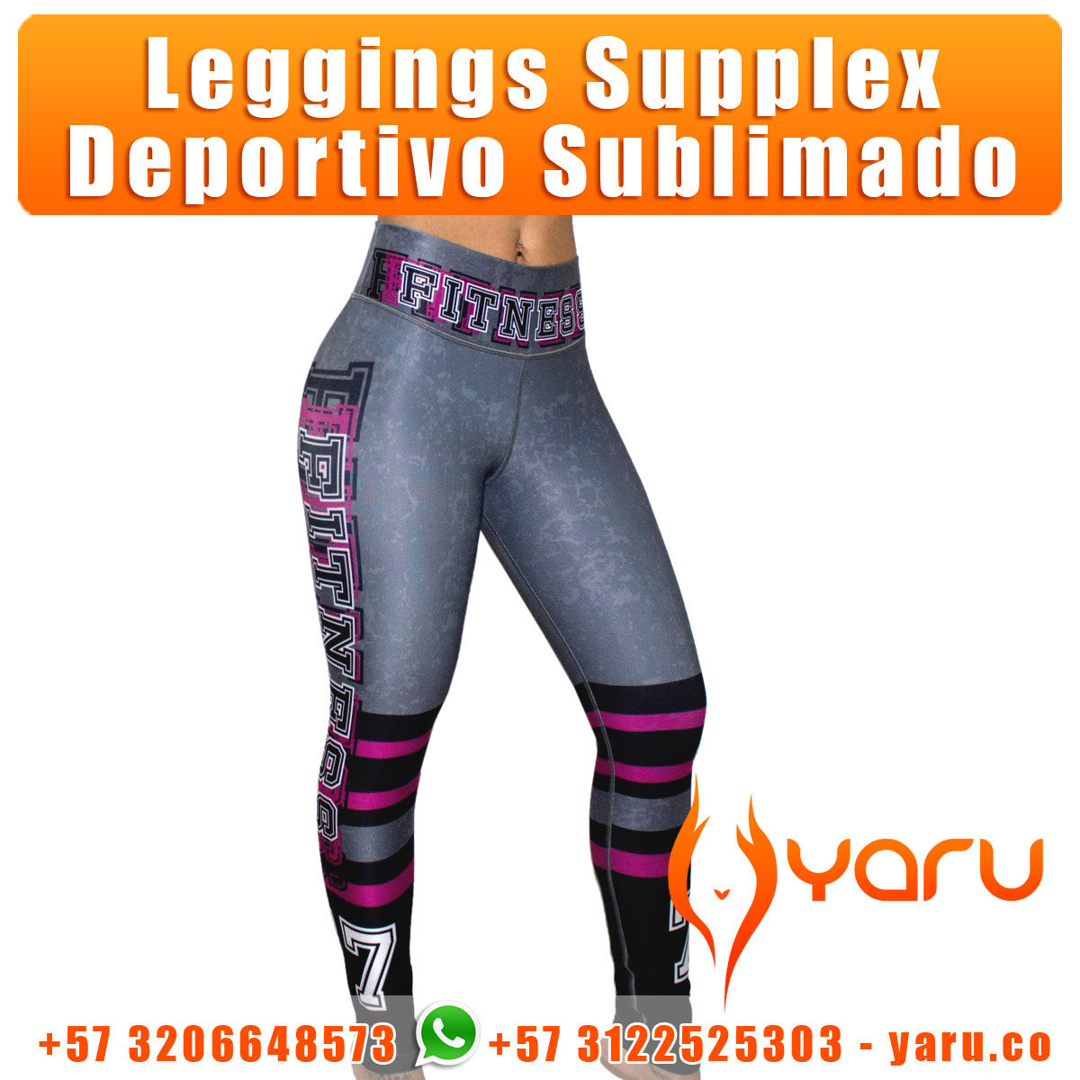 leggings supplex fabrica ropa deportiva cali